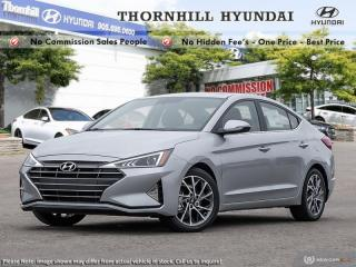 New 2020 Hyundai Elantra Luxury  - Leather Seats -  Sunroof for sale in Thornhill, ON