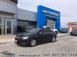 Used 2012 Chevrolet Cruze LS Sedan  -  - Air - Power Windows for sale in Bolton, ON