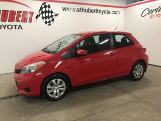 Used 2014 Toyota Yaris CE for sale in St-Hubert, QC