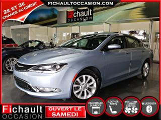 Used 2015 Chrysler 200 C berline **** TRES BAS KILOMETRAGE**** for sale in Châteauguay, QC