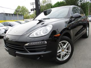 Used 2012 Porsche Cayenne S AWD|NAVI|75,000KMS|BACK-UP CAM|V8|SUNROOF for sale in Burlington, ON
