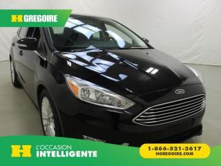 Used 2018 Ford Focus TITANIUM HB for sale in St-Léonard, QC