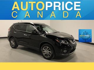 Used 2015 Nissan Rogue SL NAVIGATION|PANOROOF|LEATHER for sale in Mississauga, ON