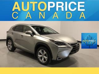 Used 2015 Lexus NX 200t NAVIGATION|MOONROOF|REAR CAM|LEATHER for sale in Mississauga, ON