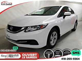Used 2015 Honda Civic Lx A/c Camera for sale in Québec, QC