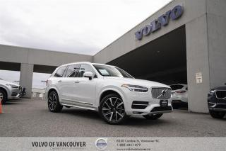 Used 2018 Volvo XC90 T6 AWD Inscription CERTIFIED PRE-OWNED | EXECUTIVE DEMO | VISION | CONVENIENCE for sale in Vancouver, BC