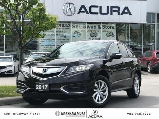 Used 2017 Acura RDX Tech at AWD, Moonroof, Power Liftgate for sale in Markham, ON
