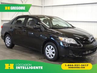 Used 2012 Toyota Corolla CE for sale in St-Léonard, QC