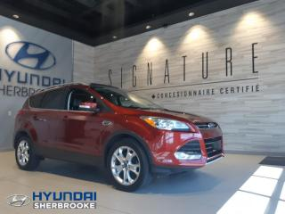 Used 2014 Ford Escape TITANIUM+AWD+GPS+CAMERA+TOIT +DEMARREUR for sale in Sherbrooke, QC