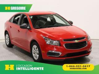 Used 2015 Chevrolet Cruze 1LS GR ELECT for sale in St-Léonard, QC