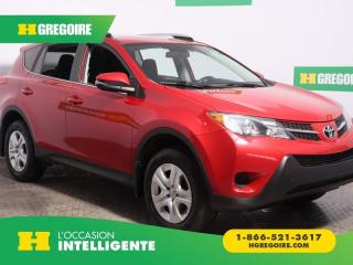 Used 2015 Toyota RAV4 LE AWD A/C CAM RECUL for sale in St-Léonard, QC