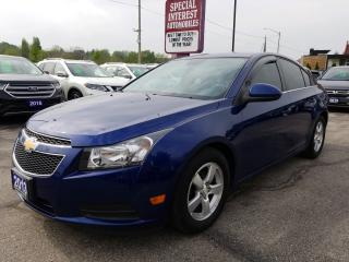 Used 2013 Chevrolet Cruze LT Turbo LEATHER SEATS !!  REMOTE START !! for sale in Cambridge, ON