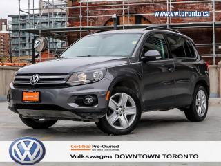 Used 2016 Volkswagen Tiguan COMFORTLINE APPLE CARPLAY ANDROID AUTO for sale in Toronto, ON