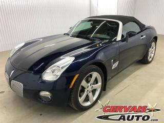 Used 2007 Pontiac Solstice Convertible Cuir for sale in Trois-Rivières, QC