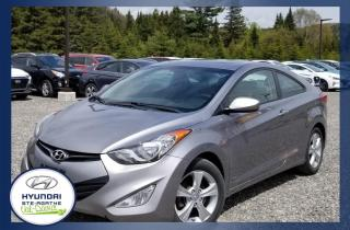 Used 2013 Hyundai Elantra Coupé 2 portes boîte manuelle GLS *Disp. for sale in Val-David, QC