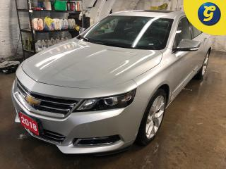 Used 2018 Chevrolet Impala LT * Premier * Navigation * Sunroof * Leather w/Orange Stitching * Auto Start * Projection  AM/FM/Android / Apple Car Play/aux/bluetooth * Rear vision for sale in Cambridge, ON