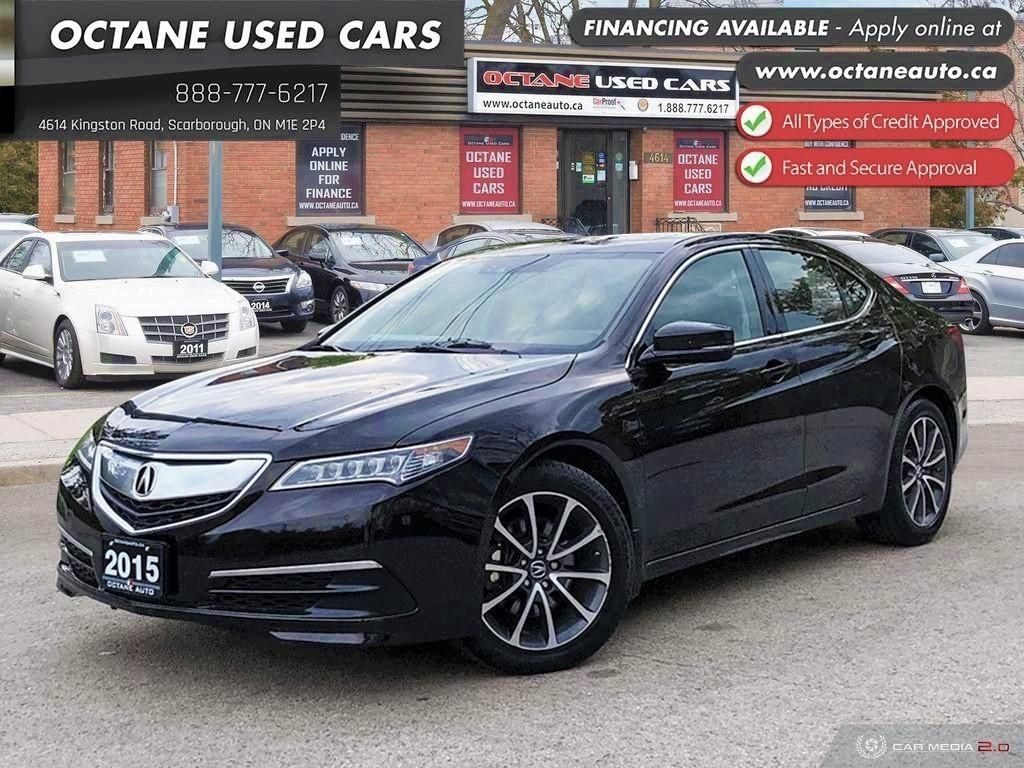 Acura Used Cars >> Used 2015 Acura Tlx Tech Accident Free 1 Owner For Sale In