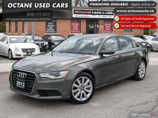 Used 2012 Audi A6 3.0 Premium Accident Free! for sale in Scarborough, ON