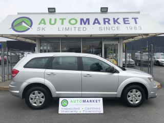 Used 2012 Dodge Journey SE FINANCING FOR ALL! FREE BCAA for sale in Langley, BC