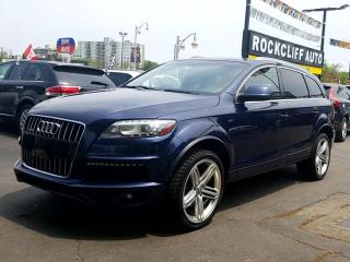 Used 2013 Audi Q7 quattro 4dr 3.0L Sport for sale in Guelph, ON
