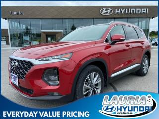 Used 2019 Hyundai Santa Fe 2.0T AWD Preferred - 1 OWNER / LOW KMS! for sale in Port Hope, ON