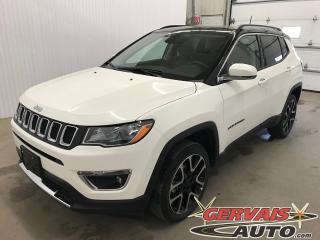 Used 2018 Jeep Compass Ltd 4x4 Gps Cuir for sale in Trois-Rivières, QC