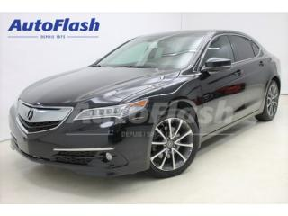 Used 2015 Acura TLX Elite Sh-Awd Cooled for sale in St-Hubert, QC
