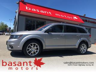Used 2017 Dodge Journey SXT for sale in Surrey, BC