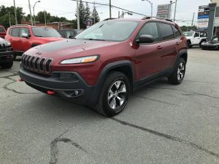 Used 2016 Jeep Cherokee Trailhawk 4X4 NAV for sale in Sherbrooke, QC