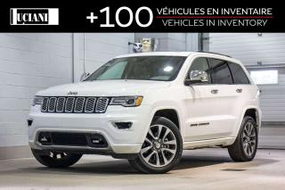 Used 2017 Jeep Grand Cherokee 2017 Jeep Grand Cherokee Overland AWD !!GPS, TOIT! for sale in Montréal, QC