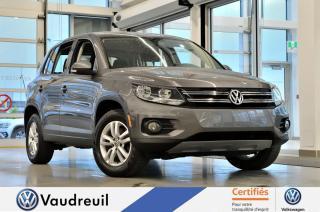 Used 2015 Volkswagen Tiguan Trendline * 16 POUCES *** Réservé *** for sale in Vaudreuil-Dorion, QC