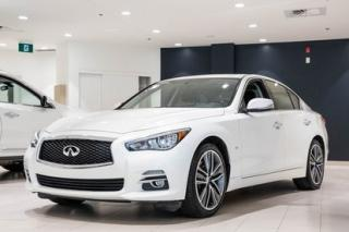 Used 2015 Infiniti Q50 Ltd/back Up for sale in Montréal, QC