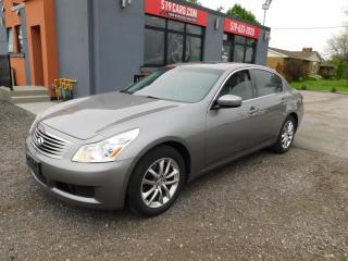 Used 2009 Infiniti G37 Luxury|LEATHER|NAVI|SUNROOF|AWD for sale in St. Thomas, ON