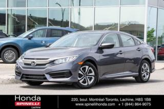 Used 2017 Honda Civic LX for sale in Lachine, QC