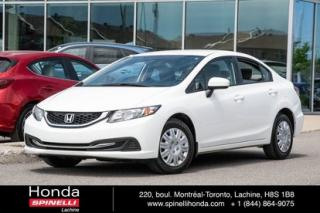 Used 2015 Honda Civic LX for sale in Lachine, QC