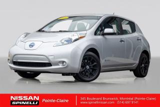 Used 2014 Nissan Leaf SV CAMERA DE RECULE / VOLANT CHAUFFANT / BANCS CHAUFFANTS for sale in Montréal, QC