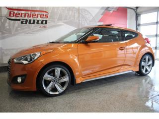 Used 2013 Hyundai Veloster Turbo Tech Cuir for sale in Lévis, QC