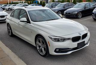 Used 2016 BMW 328 SPORTLINE WHITE ON RED, LOW MILEAGE for sale in Dorval, QC