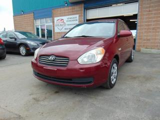 Used 2007 Hyundai Accent Berline 4 portes, boîte manuelle, GL for sale in St-Eustache, QC