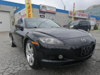 Used 2006 Mazda RX-8 4dr Cpe GT Manual | Sunroof | Leather | Warranty for sale in Oakville, ON