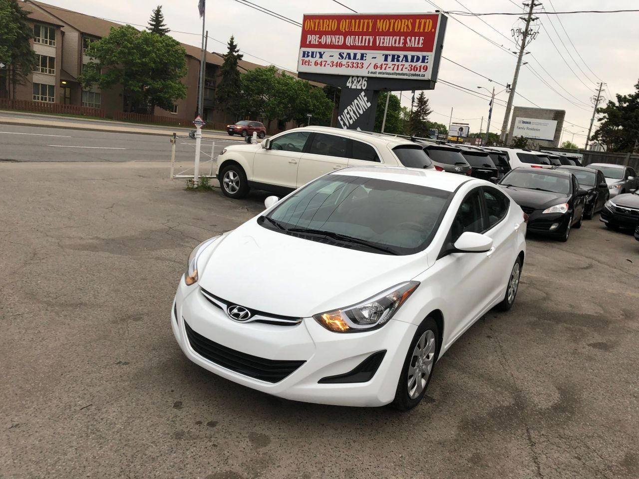 Ontario Quality Motors >> 2016 Hyundai Elantra Ontario Quality Motors Ltd