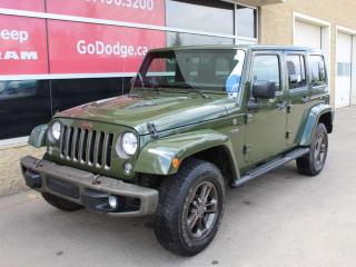 Used 2016 Jeep Wrangler Unlimited 75th Anniversary for sale in Edmonton, AB