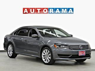 Used 2014 Volkswagen Passat TSI Navigation Leather Sunroof for sale in Toronto, ON