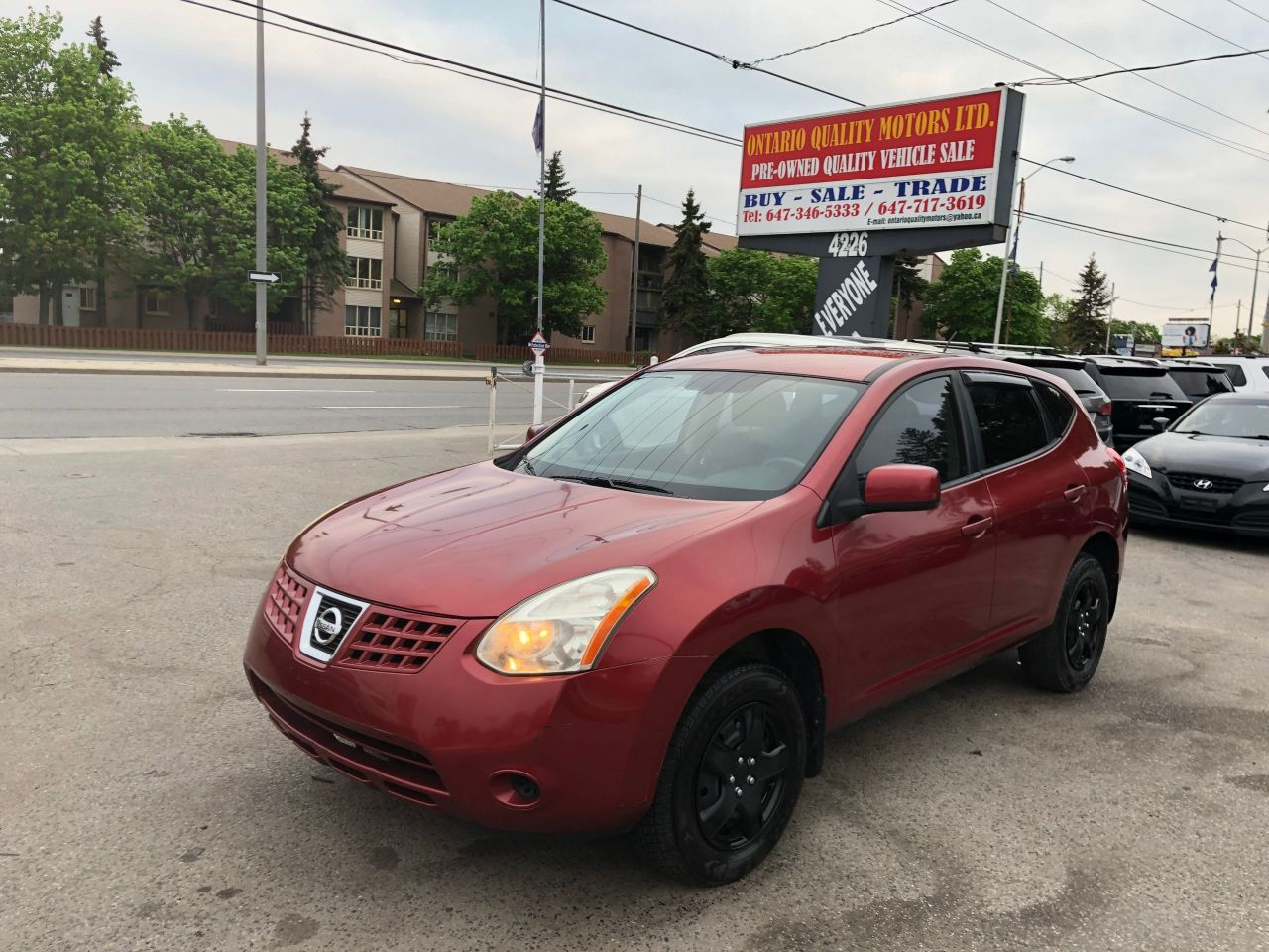 Ontario Quality Motors >> 2008 Nissan Rogue Ontario Quality Motors Ltd
