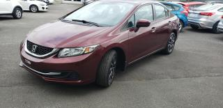 Used 2014 Honda Civic EX 4 portes CVT for sale in Drummondville, QC