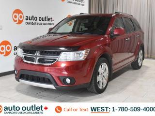 Used 2011 Dodge Journey R/T, AWD, POWER WINDOWS & SEATS, STEERING WHEEL CONTROLS, CRUISE CONTROL, A/C, HEATED FRONT SEATS, AM/FM RADIO, SATELLITE RADIO for sale in Edmonton, AB