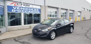 Used 2014 Hyundai Elantra Gl, Bancs Ch for sale in St-Hubert, QC