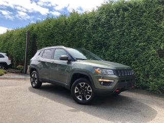 Used 2018 Jeep Compass TRAILHAWK 4WD + NAV + LEATHER HEATED FT SEATS + DUAL PANE SUNROOF for sale in Surrey, BC