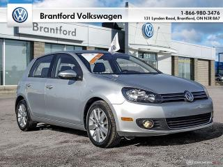 Used 2012 Volkswagen Golf 5-Dr TDI Comfortline at Tip for sale in Brantford, ON