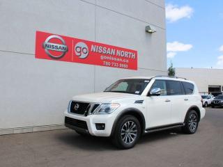 New 2019 Nissan Armada SL for sale in Edmonton, AB